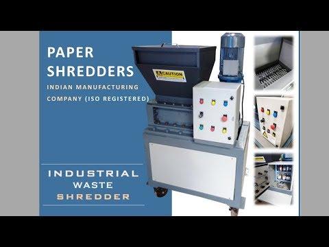 Heavy Duty Shredding Machine