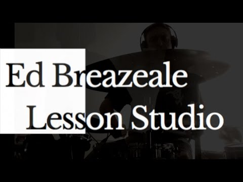 Ed Breazeale offers live and synchronous online drum/percussion lessons from his studio in Longmont, CO.
