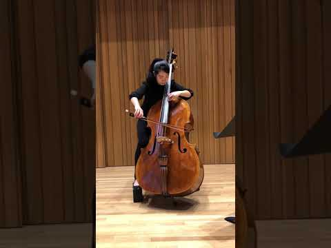 Bach Cello 1st Cello Suite Gigue, recorded winter 2019