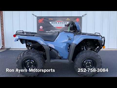 2019 Honda FourTrax Foreman Rubicon 4x4 EPS in Greenville, North Carolina - Video 1