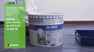 ARTILIN 3A MATE – Pintura de paredes e tectos em interior
