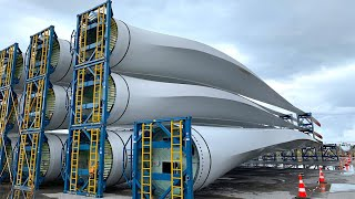 WIND BLADE TURBINE Manufacturing Process You Won't Believe How Are Made – Shocking Production Method