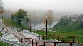 Достопримечательности Гродно Каложский парк и Каложская церковь