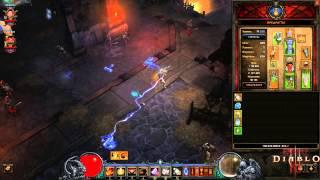 """Действие легендарного самоцвета в игре Diablo 3 """"Тхэгык"""" (""""Taeguk"""")"""