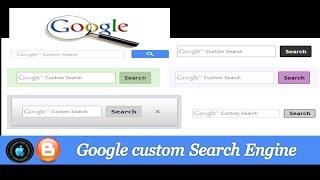 How to Add a Google Custom Search Box in Blog - Tamil Tutorial