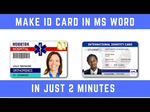 Student Id Template Word from img.youtube.com