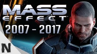 All Mass Effect Game Trailers Evolution (2007-2017) Mass Effect History PS4 Xbox One PC PS3 Xbox360