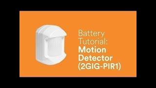 Bosch Radion Motion Sensor Reset Instructions - Самые лучшие