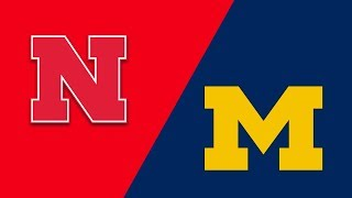 Week 4 2018 #19 Michigan vs Nebraska Highlights