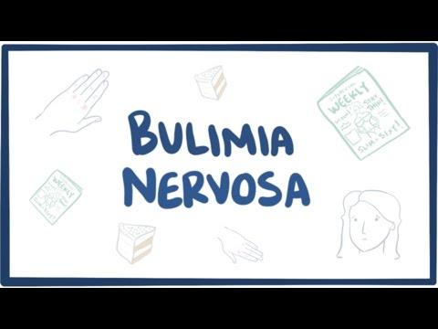 Bulimia nervosa - causes, symptoms, diagnosis, treatment & pathology