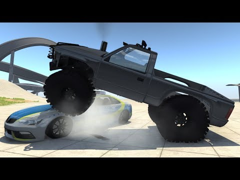 MONSTROUS D-SERIES With Road Parts For Trailers, Roamer, D And T Series - BeamNG.drive