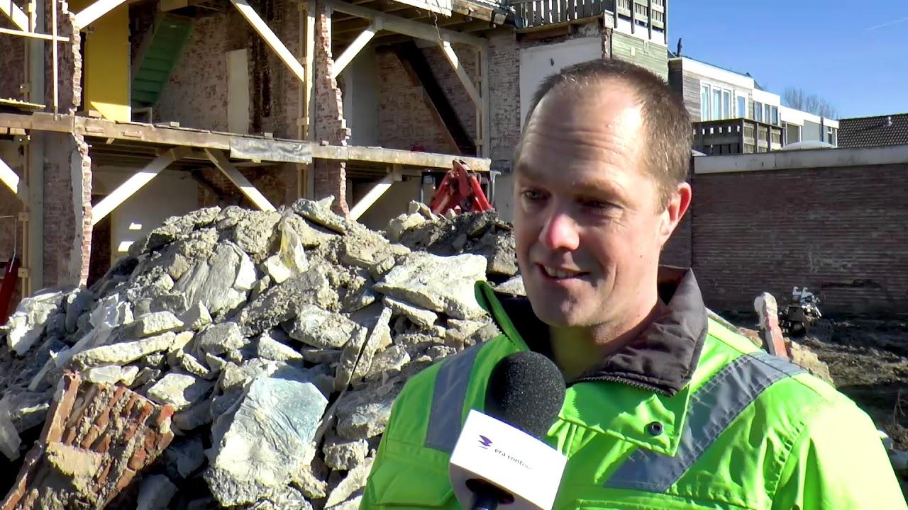 Eeuwenoude balken van sloopwoning naar renovatiehuis