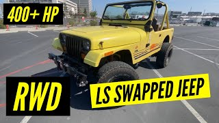 1989 Jeep YJ LS Swap Walkthrough