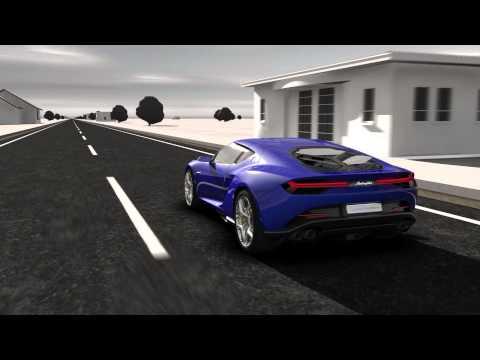 Funcionamiento del Lamborghini Asterión Concept