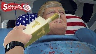 Surgeon Simulator - Anniversary Edition: Inside Donald Trump video