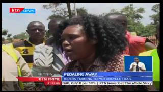 Introduction of Motor Cycles have seen the bicycle taxi fade away in Western Kenya