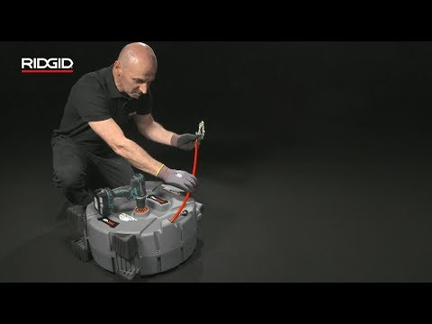 RIDGID FlexShaft™ High Speed Drain Cleaners