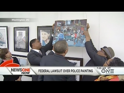 Federal Lawsuit Filed Over Painting Depicting Cops As Animals