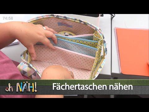 oh NÄH! – Fächertasche nähen (Aufz. v. 06.09.2019)