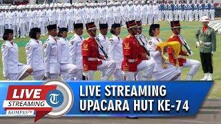Jadwal Live Streaming Upacara Pengibaran Bendera Merah Putih HUT ke 74 RI di Istana Negara