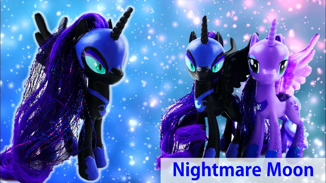 Custom MLP Nightmare Moon from Princess Luna Toy Tutorial