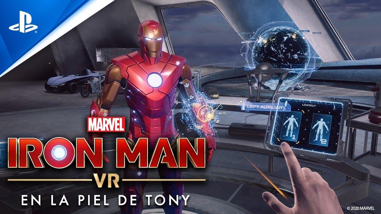 Detrás de escena: Juega con la armadura de impulso en el garaje de Tony en Marvel's Iron Man VR