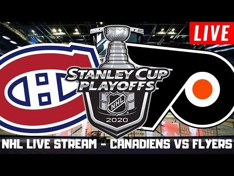 Montreal Canadiens vs Philadelphia Flyers Game 1 Live | Stanley Cup Playoffs Play by Play Stream