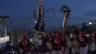 中野チャンフェス'17 BEATPARK 真南風エイサー VS 南桃原青年会 オーラセー