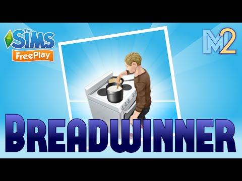 Sims FreePlay - Breadwinner Cooking Quest with Ron Weasley (Let's Play Ep 2)