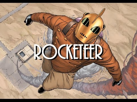 ROCKETEER - Curiosidades e novidades