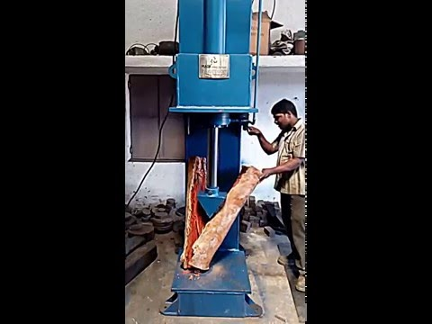 Wood Log Splitter Machine