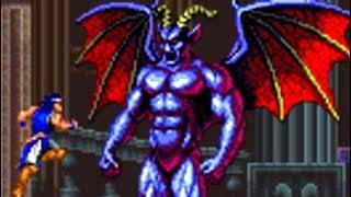 Gambar cover Castlevania Dracula X (SNES) All Bosses (No Damage)