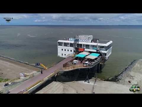 Delfzijl vandaag'' Voortgang dijkverplaatsing en aanleg strand.