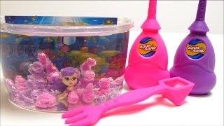 AQUA Sand Mermaid Aquarium Playset - Magic Sand That Never Gets Wet?