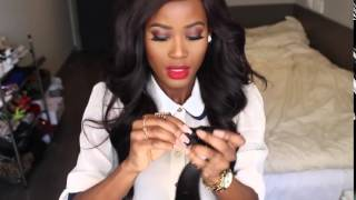 BRAZILIAN WEAVE LTD BY BLEESED LUV Initial Hair Review