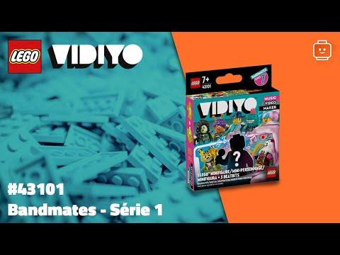 Vidéo LEGO VIDIYO 43101 : Bandmates - Série 1
