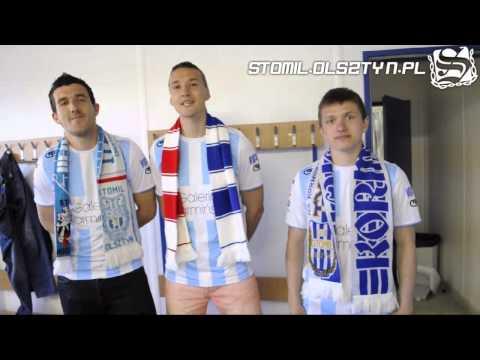 Piłkarze Stomilu zapraszają na mecz Stomil Olsztyn - Polonia Bytom