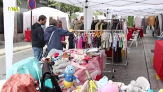 preview picture of video 'Sant Julià dóna el tret de sortida a la temporada de mercats mensuals amb la fira del Roser'