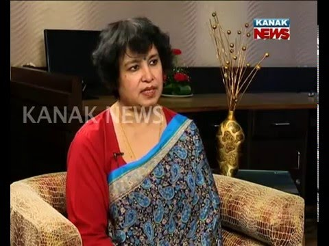 Exclusive Interview With Author Taslima Nasrin Par 1