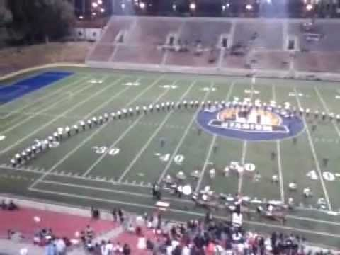 Santa Ana high school Marching Saints