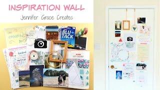Make An Inspiration Wall!