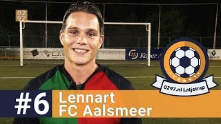 Latjetrap #6: Lennart Eberharter van FC Aalsmeer