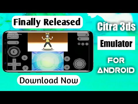 Citra 3ds Emulator For Android || How to Download Citra 3ds