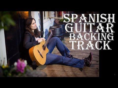Spanish Guitar Chords Rumba Backing Track: Am, G, F, E