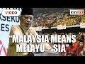 Zainal Kling Malaysia belongs to the Malays