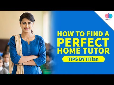 how to find a perfect home tutor