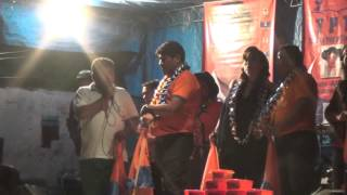 preview picture of video 'Proclamacion Campo Grande - marcial rengifo ejecutivo seccional de yacuiba TPT'