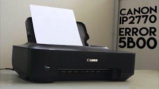 Service Tool Problem When Reset Canon Printer - Most Popular