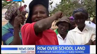 Kibwezi residents protest court order that seeks to demolish school