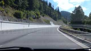 preview picture of video 'Donovaly (mountain pass)'